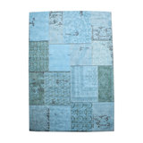 patchwork turquoise
