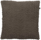 Kussen Andy taupe 45x45 cm_