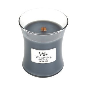 Woodwick kaars small Evening Onyx