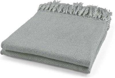 Plaid Mindy grijs 130x180