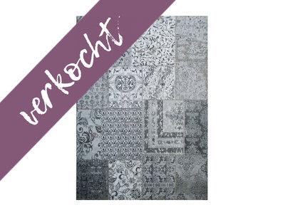 Carpet Patchwork grey