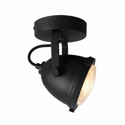 Spot Moto - Zwart - Metaal - 1 Lichts