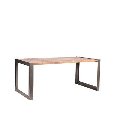 Eetkamertafel Factory - Rough - Mangohout - 160x90 cm