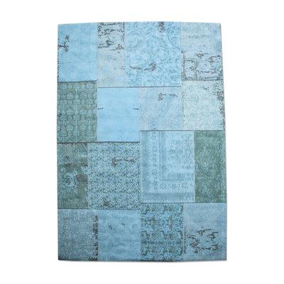 Carpet Patchwork turquoise
