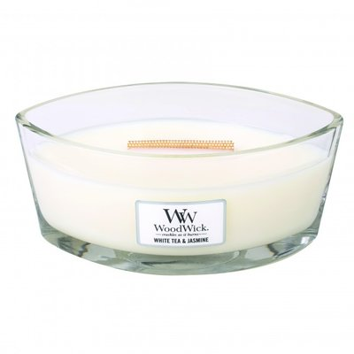 WoodWick kaars boot White tea & jasmine