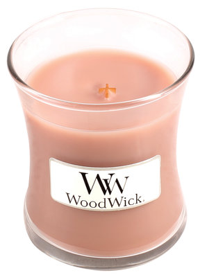 WoodWick kaars small Cedar