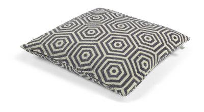 Kussen Bragt grijs 50x50 cm