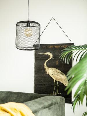 Wanddeco Bird