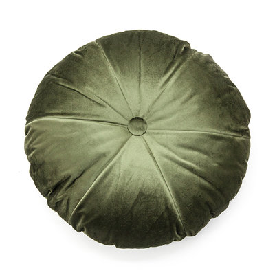 Kussen York green doorsnede 50 cm