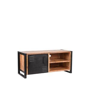 Tv-meubel Brussels - Rough - Mangohout - 115 cm